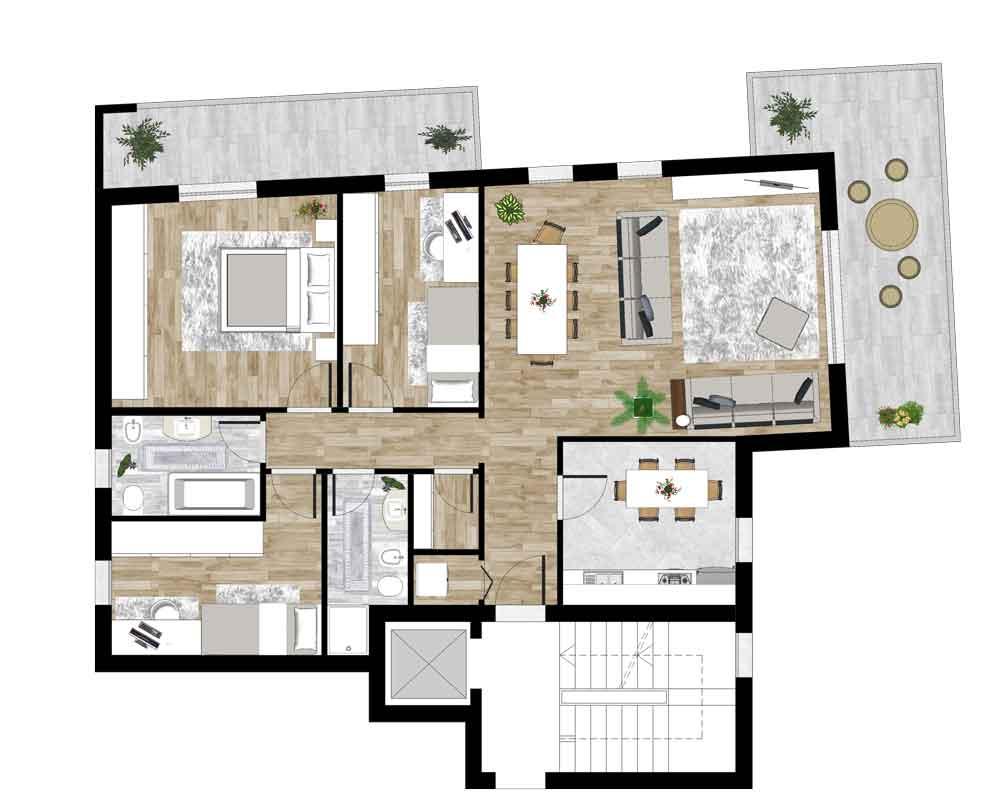 Appartamento Nr 4