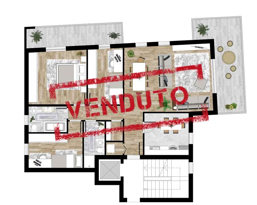 Appartamento Nr 2